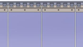 Comment composer son rideau a lanieres PVC