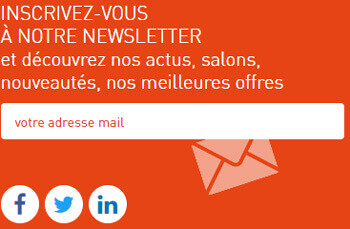 Inscription a la newsletter