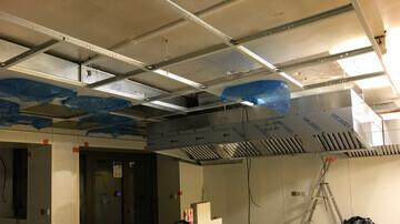 Visualisation structure faux-plafond