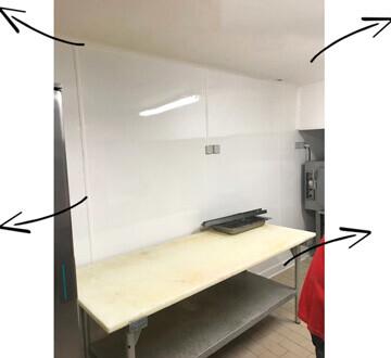 Fournil boulangerie en renovation