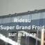 Rideau Super Grand Froid sur mesure