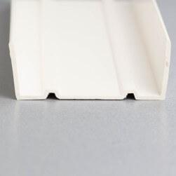 U de sol PVC de 60 mm