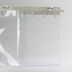 Rideau à lanières PVC Standard nervuré  sur mesure
