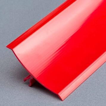 Congé d'angle mâle PVC rouge à lèvres souples