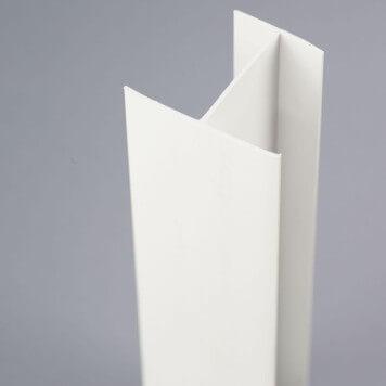 Profilé PVC en H 40 mm