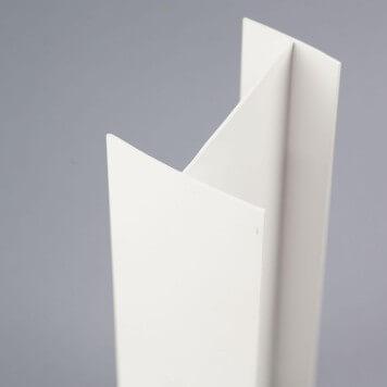 Profilé PVC en H 60 mm