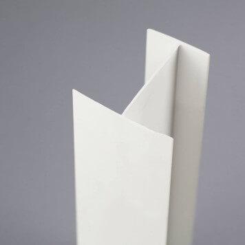 Profilé PVC en H 50 mm
