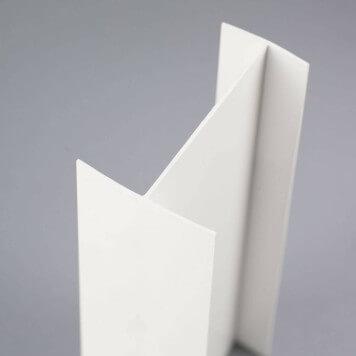 Profilé PVC en H 80 mm