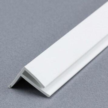 Baguette angle externe (sortant) PVC pour plaques de 2 à 3 mm