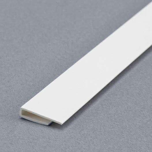 Profilé de départ et d'arrêt blanc pour plaques 2 à 3mm