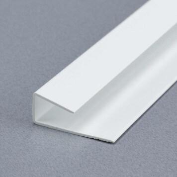 Profilé de départ et d'arrêt blanc pour plaques 8 à 10mm