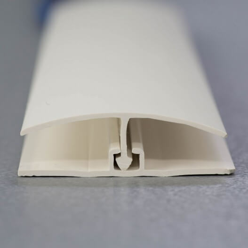 Profilé de jonction blanc pour plaques de 8 à 10 mm d'épaisseur