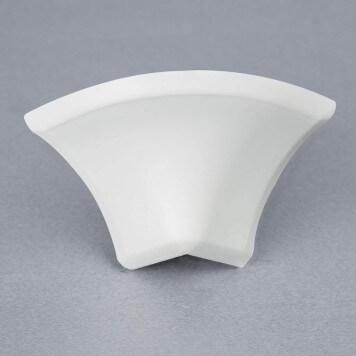 Jonction externe 2D Blanche pour Congé d'angle PVC