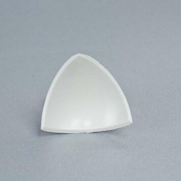 Jonction interne 3D Blanche pour congé d'angle PVC