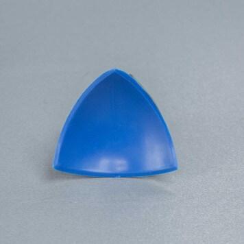 Jonction interne 3D Bleue pour congé d'angle PVC