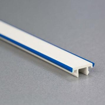 Cache-vis Bleu pour Pare-choc PVC
