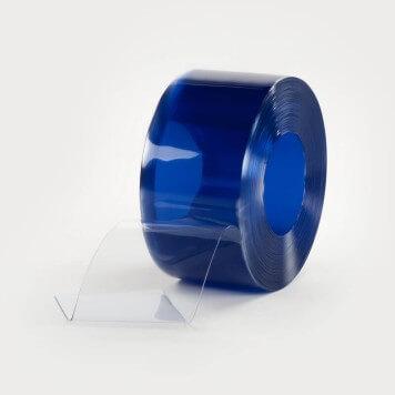 Rouleau 50m lanière PVC Standard azuré bleu 200mm x 2mm