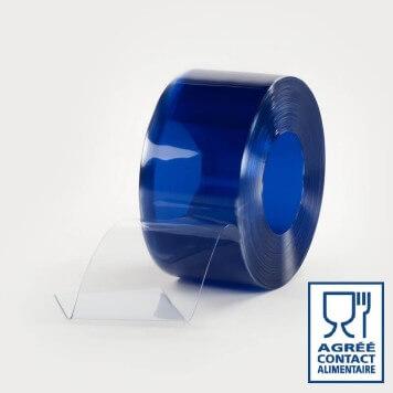 Rouleau 50m lanière PVC Standard contact alimentaire 200mm x 2mm