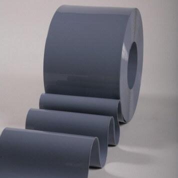 Rouleau 50m lanière PVC Standard gris opaque 200mm x 2mm