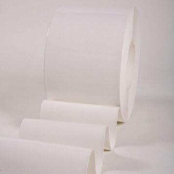 Rouleau 50m lanière PVC Standard blanc opaque 200mm x 2mm