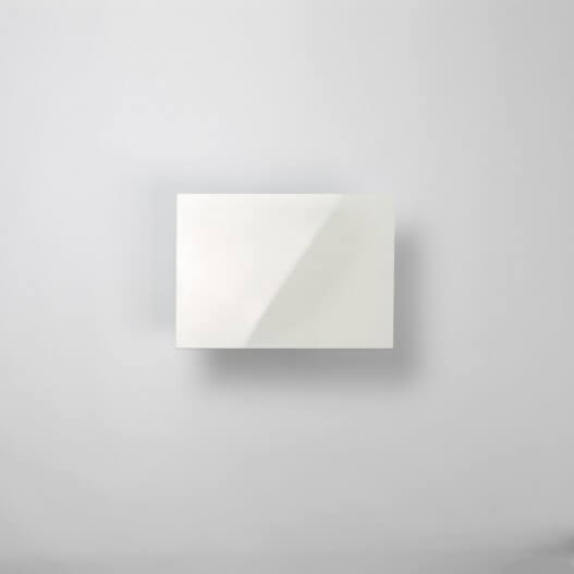 Dalle faux plafond 1200 X 600 blanche 5 mm brillante lavable