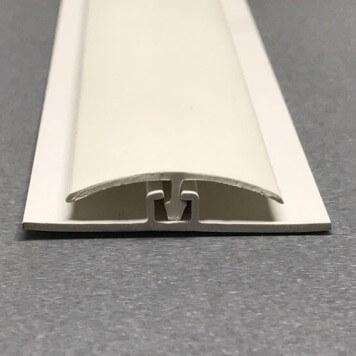 Profilé de jonction blanc pour plaques de 5 mm d'épaisseur