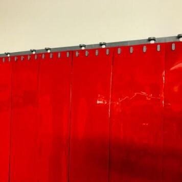 Rideau standard orange opaque recouvrement 100%