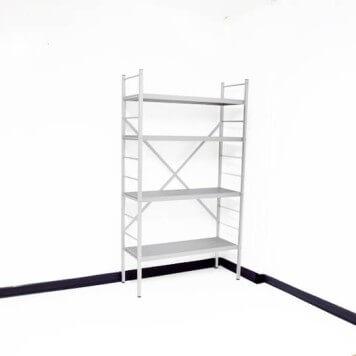 Rayonnage alimentaire aluminium anodisé -Base- Hauteur 1450 mm
