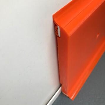 Plinthe à joints souples Polyéthylène orange