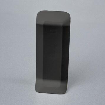 Connecteur gris foncé pour plinthe adhésive étanche à lèvres souples