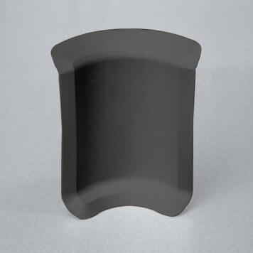 Angle interne gris foncé pour plinthe adhésive étanche à lèvres souples
