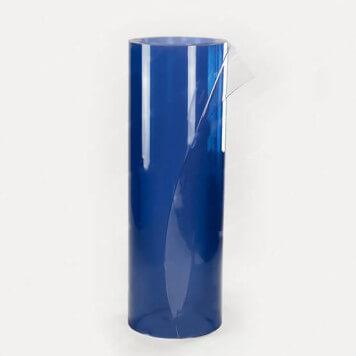 Rouleau PVC souple azuré bleu 1000x2 longueur 20m