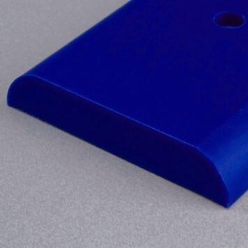 Lisse de protection Polyéthylène bleue gentiane