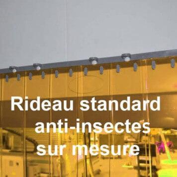 Rideau standard anti insecte sur mesure