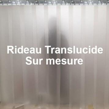 Rideau standard translucide sur mesure
