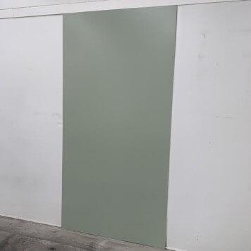Plaque PVC vert olive 2.5 mm satinee pour renover vos murs