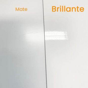 Plaque PVC blanche 2 mm brillante
