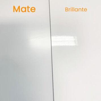 Plaque PVC blanche 2 mm mate