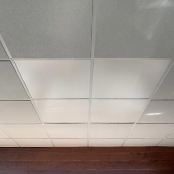 Dalle faux plafond 2mm mate 595x595mm
