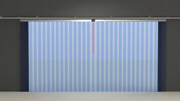 Les differents rideaux a lanieres PVC souple