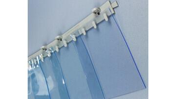 Les dimensions, largeurs et epaisseurs et geometrie des lanieres souples PVC