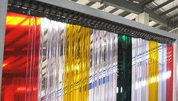 Porte souple PVC couleurs