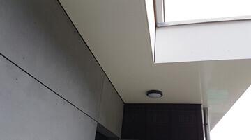Dessous de toit en lambris PVC
