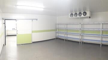 Renovation chambre froide plaques lambris PVC