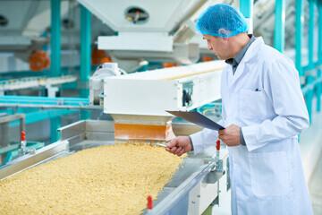 Personne de la DGAL responsable du contrôle d'une usine agroalimentaire