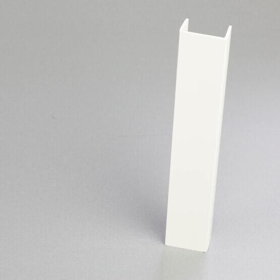Nez de cloison en PVC blanc