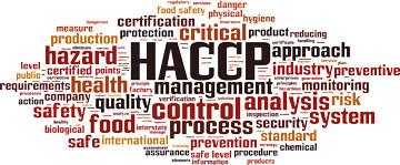Méthode HACCP : nuage de mots