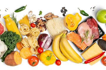 Illustration représentant des produits frais