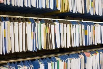salle d'archive