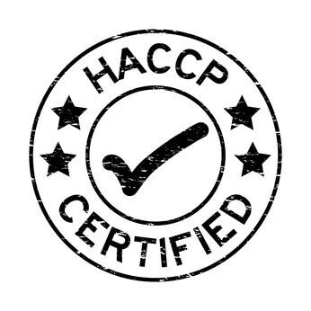logo sur lequel est écrit HACCP Certified